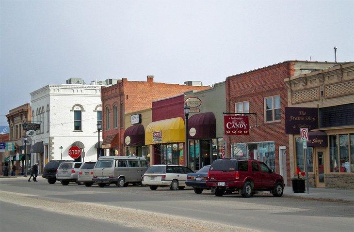 Calle principal en Hamilton