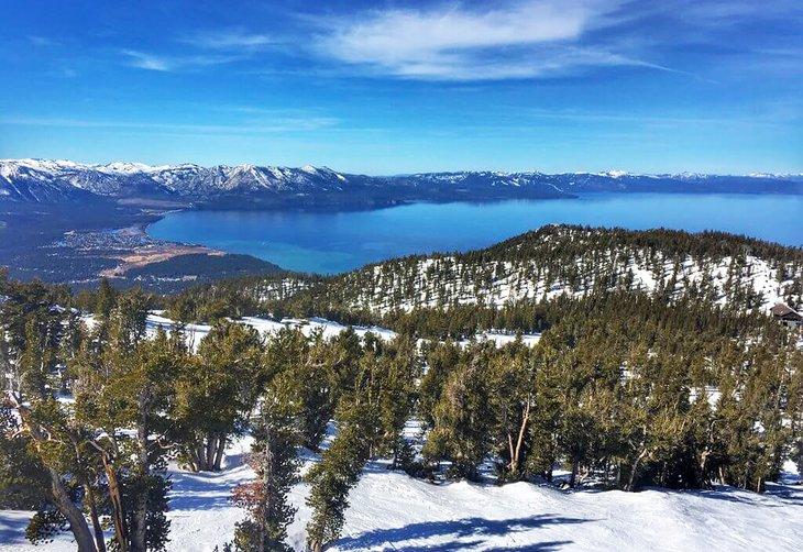 Invierno en Lake Tahoe
