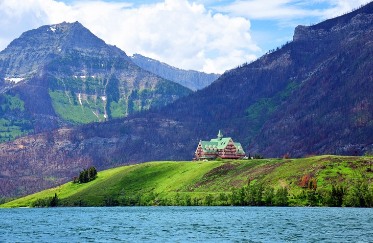 The Prince of Wales Hotel on Waterton Lake
