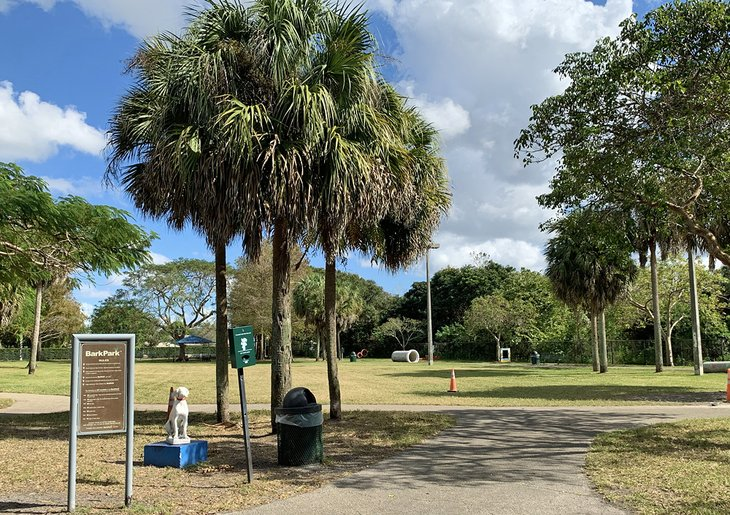 There's plenty of space to roam at Dr. Paul's Dog Park.
