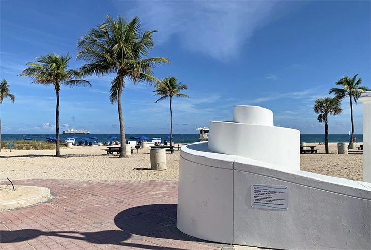 El paseo marítimo de Fort Lauderdale Beach Park