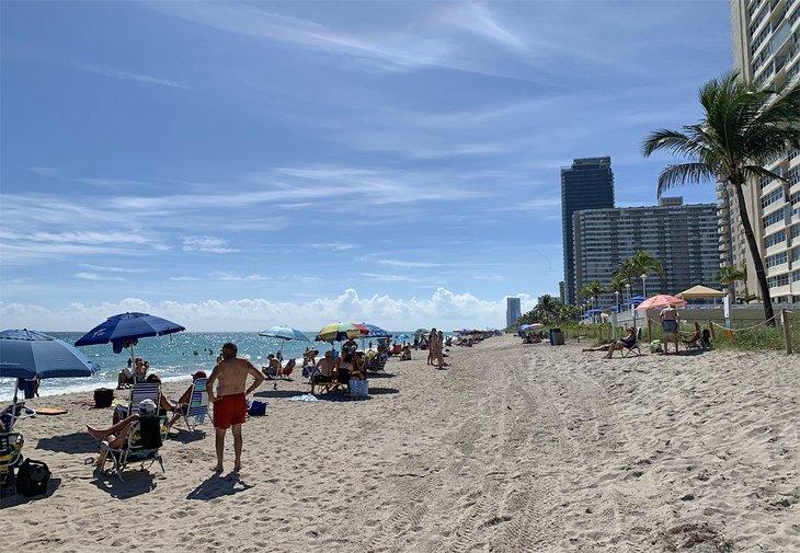 Un día ajetreado en Hallandale Beach