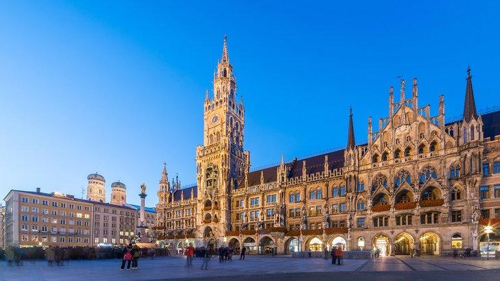 Marienplatz de Múnich
