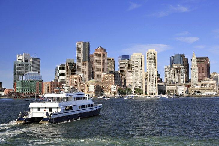 Crucero por el puerto de Boston