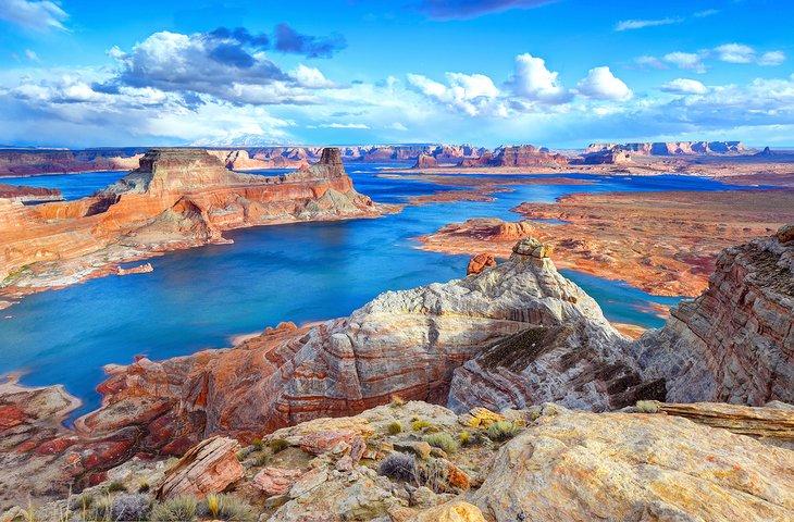 Punto de Alstrom, lago Powell, Arizona