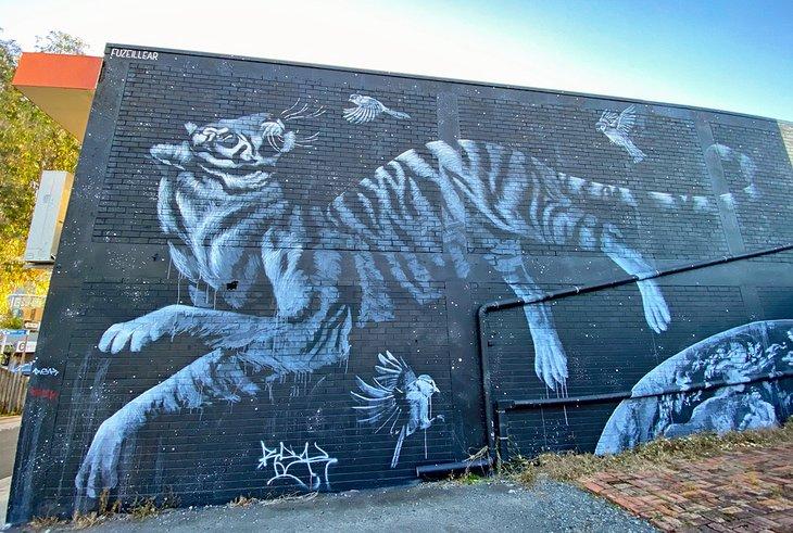 Arte callejero de Caloundra