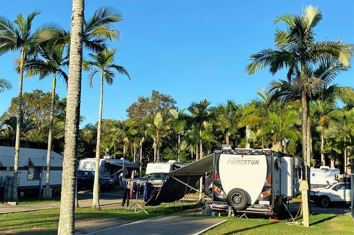 Parque de caravanas de Noosa