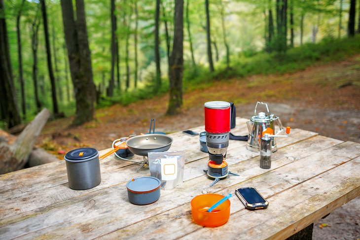 Camp kitchen essentials
