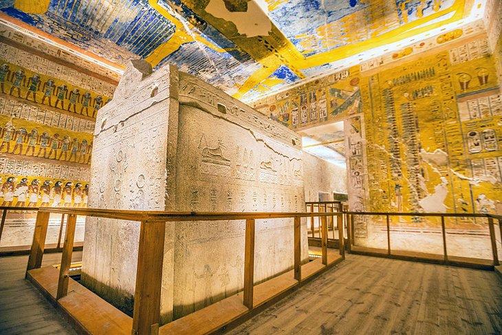 Tumba de Ramsés IV en el Valle de los Reyes