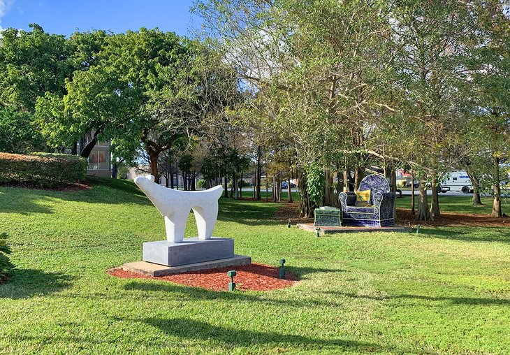 Grounds of the Coral Springs Center for the Arts