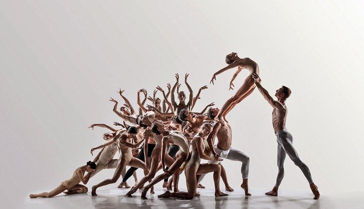 Grupo de danza moderna