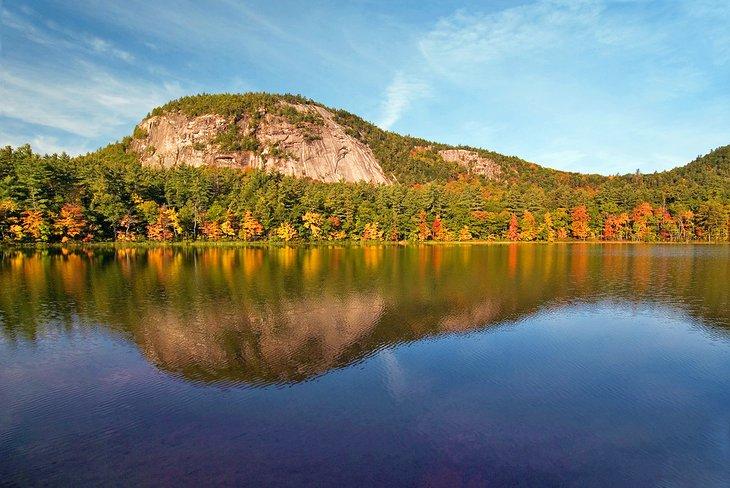 Colores de otoño en Echo Lake