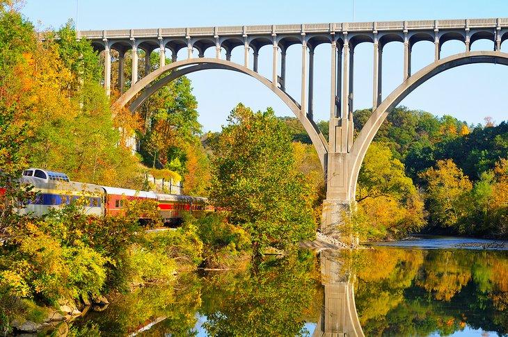 Ferrocarril escénico del valle de Cuyahoga
