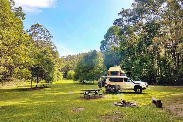 Camping en Hidden Valley @ Gro Mad Plantations