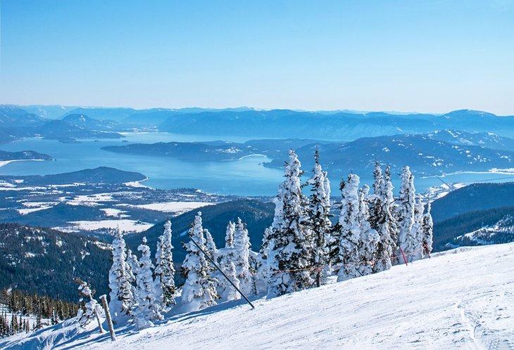 Vista desde Schweitzer Mountain Resort