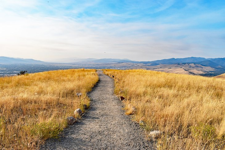 El camino hacia el mirador escénico de Barmeyer