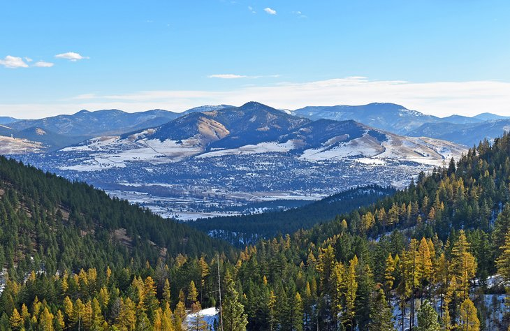 Vista desde Blue Mountain National Recreation Trail
