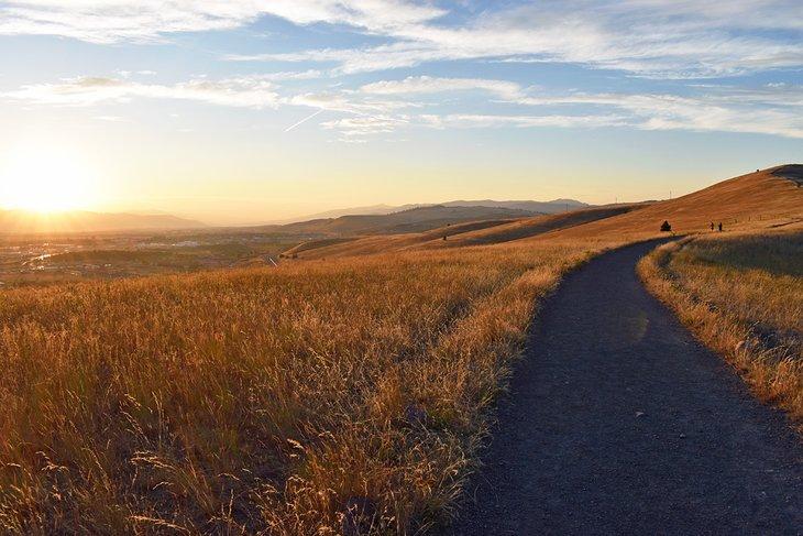Ridge Trail en las colinas del norte