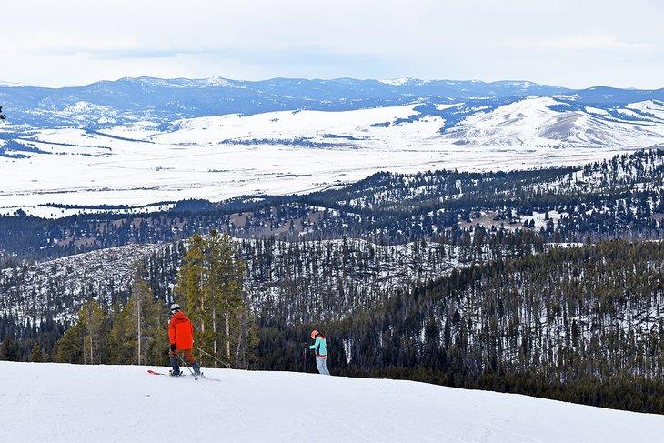 Esquiadores en Discovery Ski Area