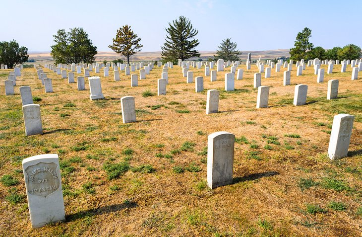 Monumento Nacional Little Bighorn Battlefield
