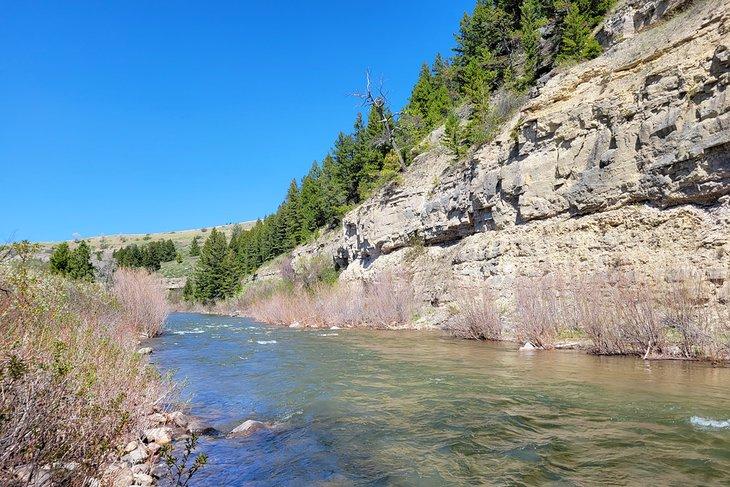 Belt Creek, Parque Estatal Sluice Boxes