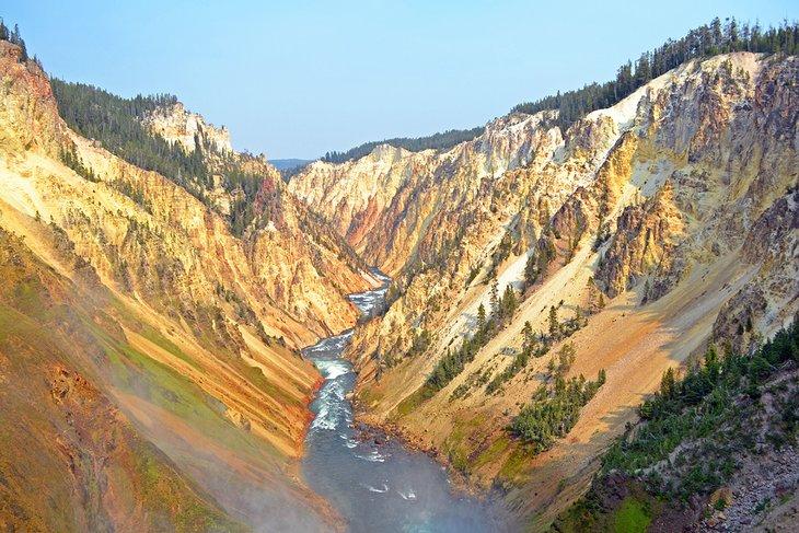 Gran Cañón de Yellowstone, Parque Nacional de Yellowstone