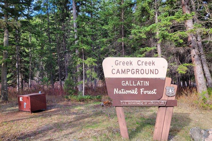 Camping de Greek Creek