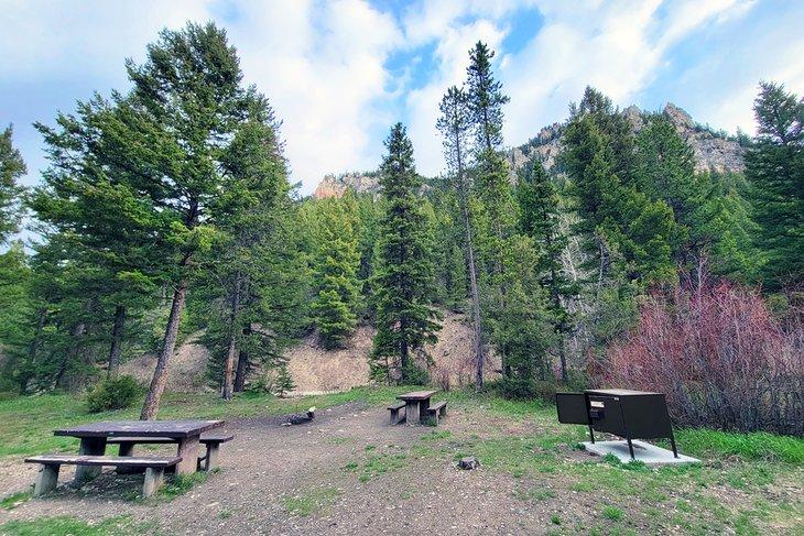Campamento Spire Rock