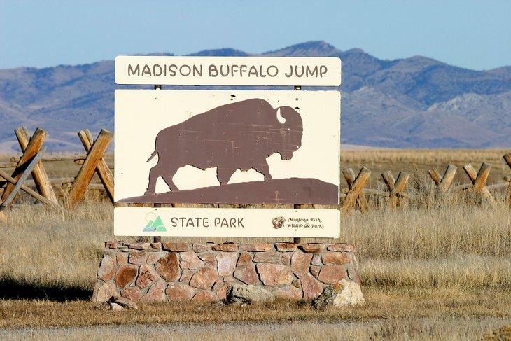 Firmar en Madison Buffalo Jump State Park