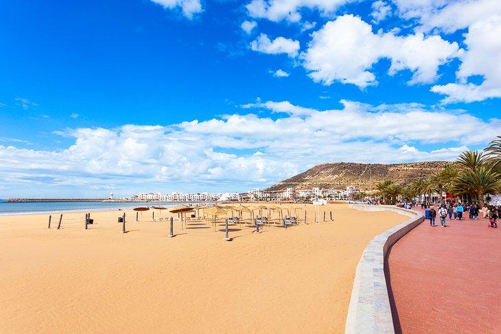Playa principal de Agadir