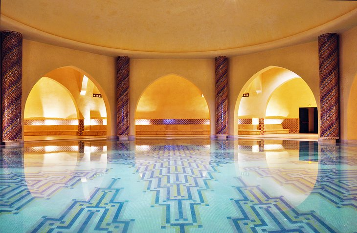 Interior del hammam