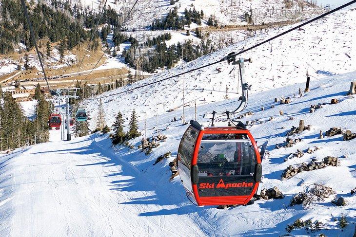 Góndola en Ski Apache