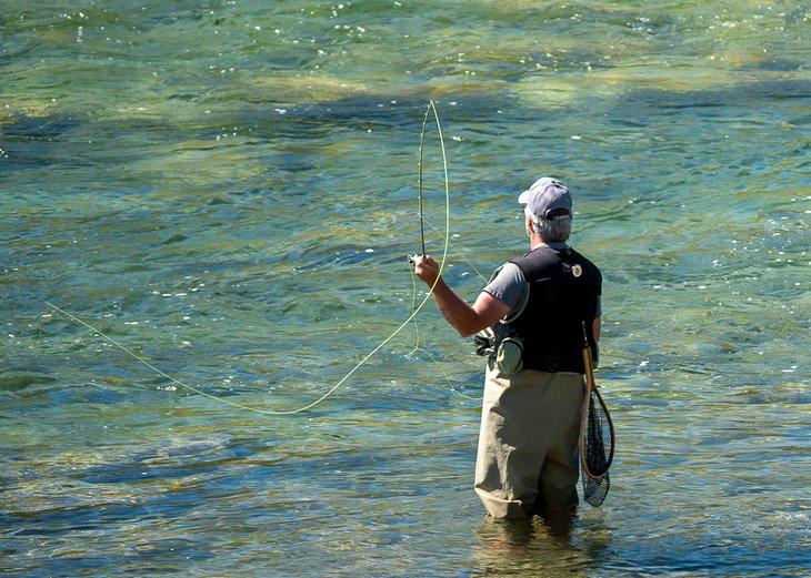Paraíso de la pesca con mosca