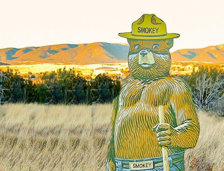 Parque histórico Smokey Bear