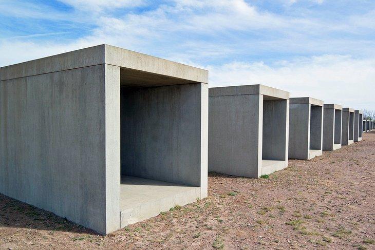 Arte concreto de Donald Judd