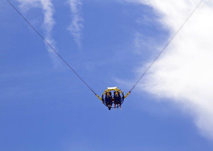 Montando el Skycoaster