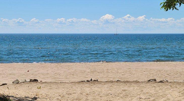 Playa de Gibraltar, Islas de Toronto