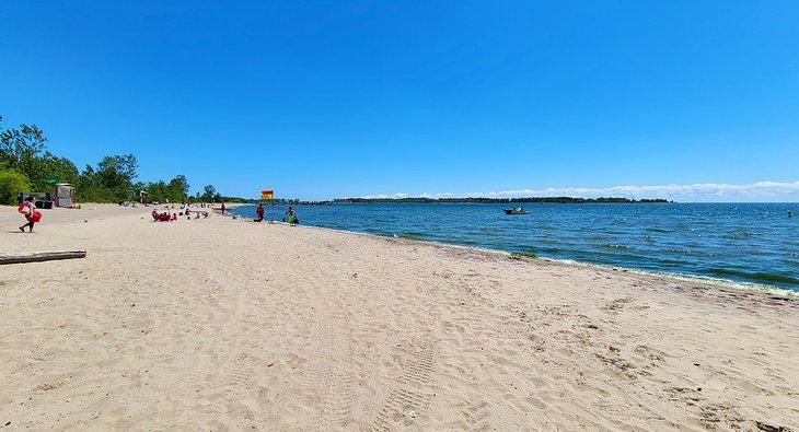 Ward's Island Beach, islas de Toronto