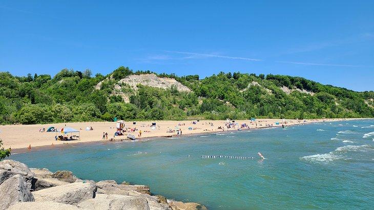 Bluffer's Beach in Bluffer's Park